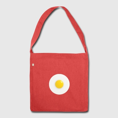 fried egg - Shoulder Bag made from recycled material
