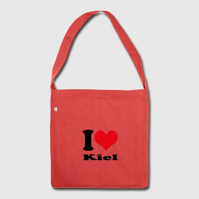 I love Kiel - Shoulder Bag made from recycled material