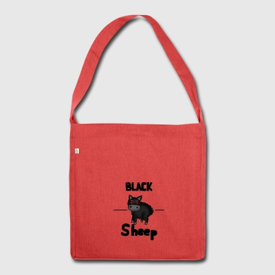 Black sheep - Shoulder Bag made from recycled material