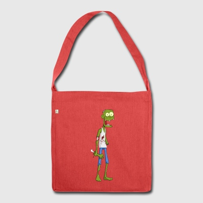 Kiko the zombie - Shoulder Bag made from recycled material