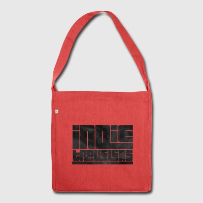 Indie Reisende - Schultertasche aus Recycling-Material