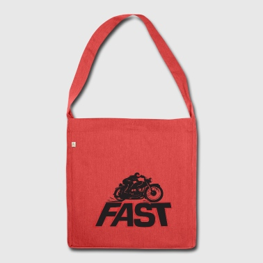Fast_4 - Shoulder Bag made from recycled material