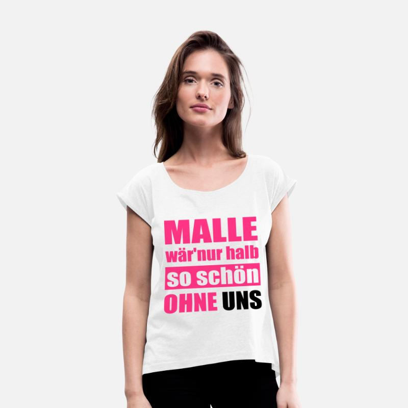 Malle Mallorca Lustiger Gruppen Spruch Von Xsylx Spreadshirt