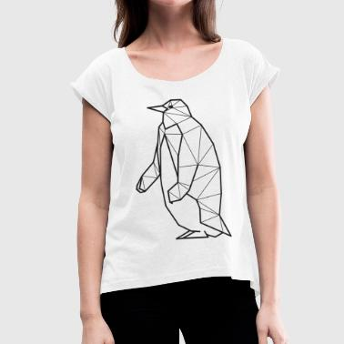 Penguins Madagascar penguin - Women's T-Shirt with rolled up sleeves
