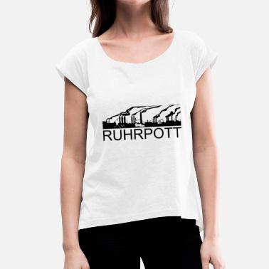 Ruhrpott RUHRPOTT - Women's T-Shirt with rolled up sleeves