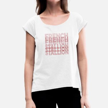 Typography Typography - Women's Rolled Sleeve T-Shirt