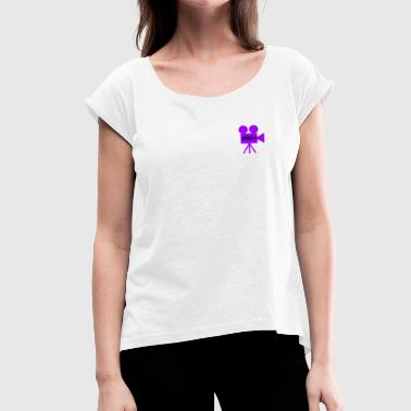 Action action - Women's T-Shirt with rolled up sleeves