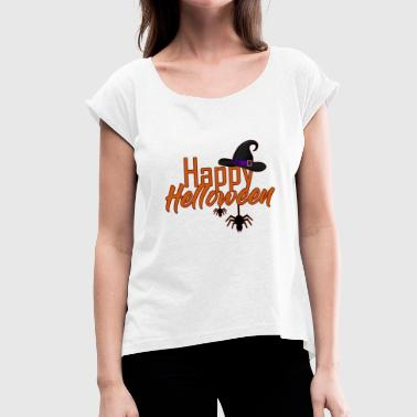 Helloween Helloween - Women's T-Shirt with rolled up sleeves