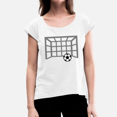 But De Football but de football - T-shirt à manches retroussées Femme