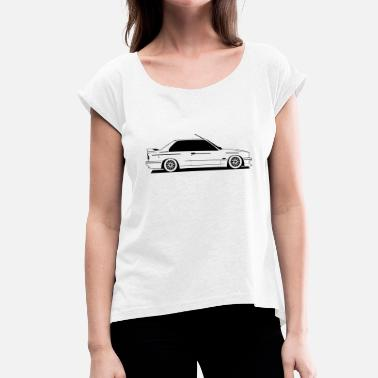 E30 E30 - Women's T-Shirt with rolled up sleeves