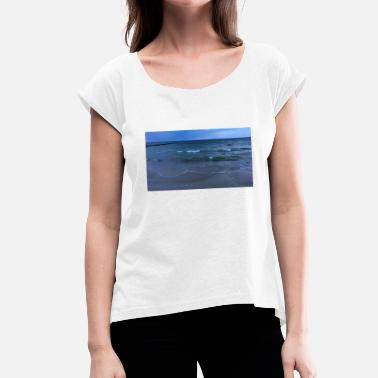 Baltic Sea Baltic Sea - Women's T-Shirt with rolled up sleeves