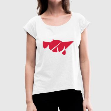 Complex shape - Women's T-Shirt with rolled up sleeves