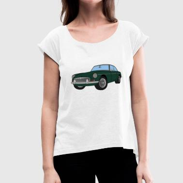 Spruce SPRUCE GREEN MGB - Women's T-Shirt with rolled up sleeves