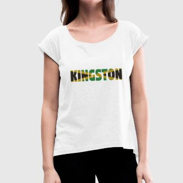 Surrey Kingston Jamaica - Dame T-shirt med rulleærmer