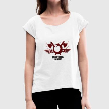 Dragon Hunter Dragon hunter - Women's T-Shirt with rolled up sleeves