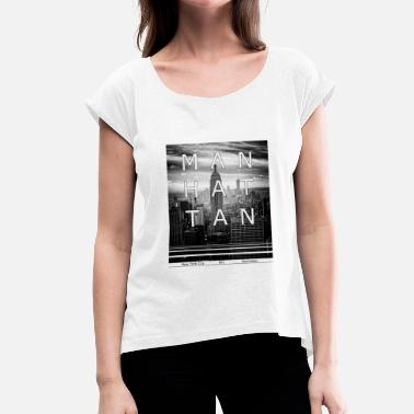 Manhattan Manhattan - Women's T-Shirt with rolled up sleeves