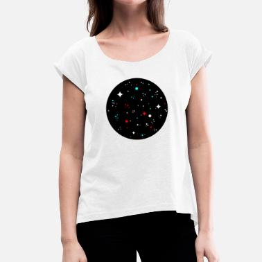 Universe universe - Women's Rolled Sleeve T-Shirt