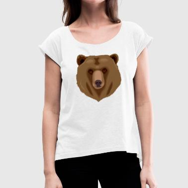 Grizzly Bear Grizzly Bear - Women's T-Shirt with rolled up sleeves