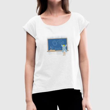 Tooth Fairy Gift - Women's T-Shirt with rolled up sleeves