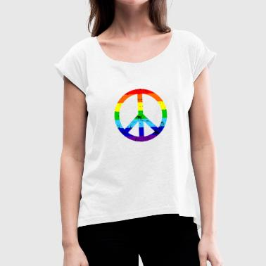 Shop Peace Sign T Shirts Online Spreadshirt