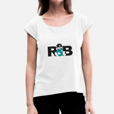 Rnb RnB - Women's T-Shirt with rolled up sleeves