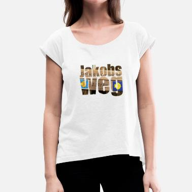 Daniel James St. James - Women's T-Shirt with rolled up sleeves