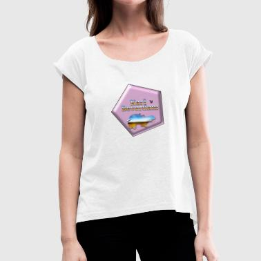 Baton Rouge karl_beverdam_logo_ - Women's T-Shirt with rolled up sleeves