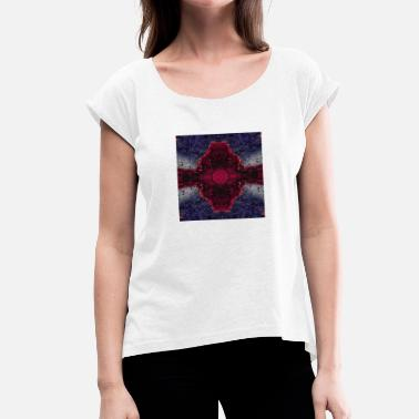 Glitch The Glitch - Women's T-Shirt with rolled up sleeves