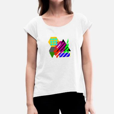 Digital Art digital art - Women's T-Shirt with rolled up sleeves
