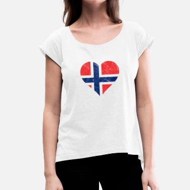 detailed look c39bb eda84 coeur-de-drapeau-norvegien-t-shirt-a-manches-retroussees-femme.jpg