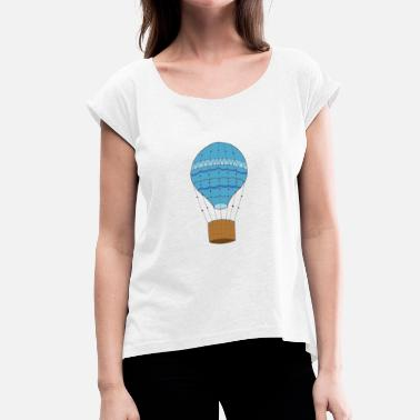 Balloon Modelling balloon - Women's T-Shirt with rolled up sleeves