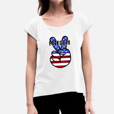 Freedom Fighters freedom fighters - Women's T-Shirt with rolled up sleeves