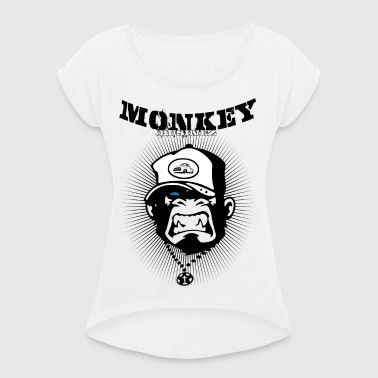 Monkey Businez - Pickup - Frauen T-Shirt mit gerollten Ärmeln