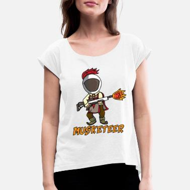 Musket MUSKETEER - Women's Rolled Sleeve T-Shirt