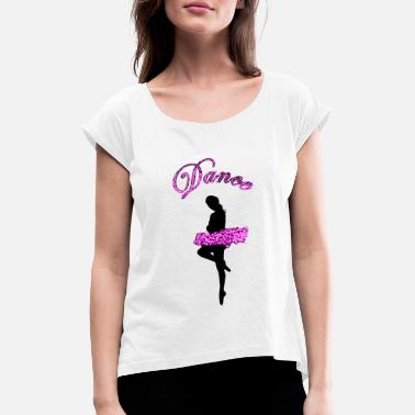 Ballerina Swan Lake Ballet dancer - Women's T-Shirt with rolled up sleeves