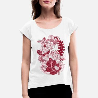 Indian-summer Indian summer - Women's T-Shirt with rolled up sleeves
