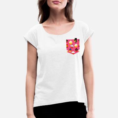 Muffin muffins - Women's Rolled Sleeve T-Shirt
