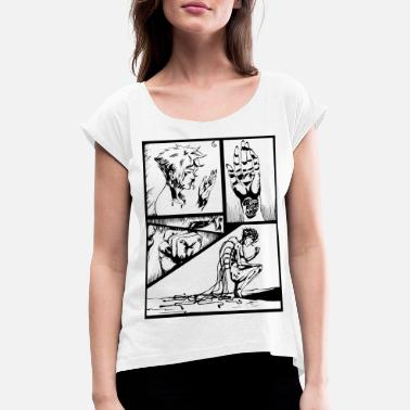 Strip storyboard1 - Women's Rolled Sleeve T-Shirt