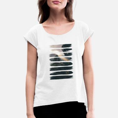 Digital Art Digital Art Art Wilderness Gift - Women's Rolled Sleeve T-Shirt
