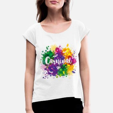 Carneval Carneval - Women's T-Shirt with rolled up sleeves