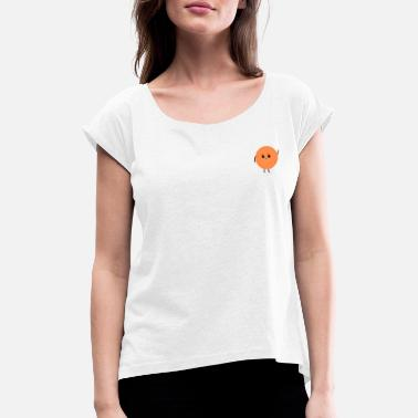 Coin coin - Women's Rolled Sleeve T-Shirt