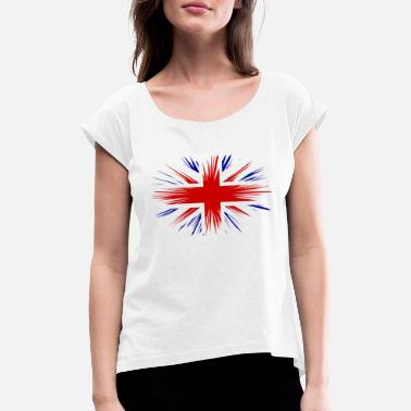 Jack Union Jack - Women's Rolled Sleeve T-Shirt
