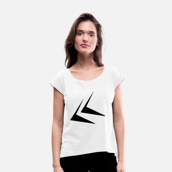 Hammer T-Shirts - Sporty - Women's Rolled Sleeve T-Shirt white
