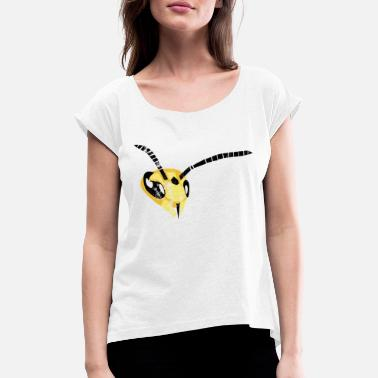 Wasp wasp - Women's Rolled Sleeve T-Shirt