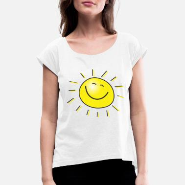 Sun Sun - Women's Rolled Sleeve T-Shirt