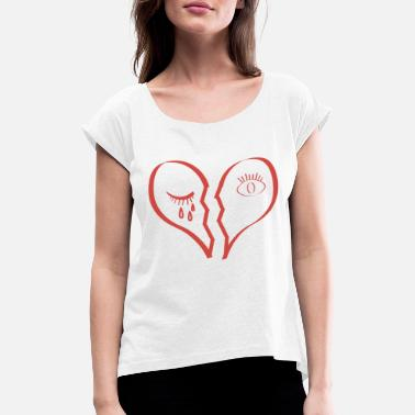 Red Heart Red Heart - Women's Rolled Sleeve T-Shirt