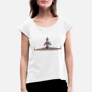 Pose Yoga Pose - Women's Rolled Sleeve T-Shirt