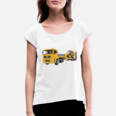 Transport transportation - Women's Rolled Sleeve T-Shirt