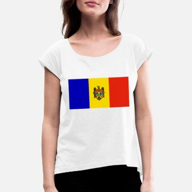 Moldova moldova - Women's Rolled Sleeve T-Shirt