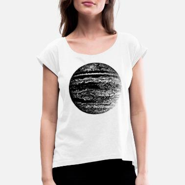 Jupiter - Women's Rolled Sleeve T-Shirt